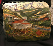 Vintage 1960's Marx Tin Litho Coal Mining Valley Train Tunnel O-scale  D20