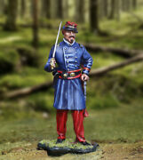 The Collectors Showcase Civil War Union Cs01089 14th Brooklyn Officer With Sword