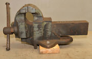 Monster 130 Lb Parker Blacksmith Vise 6 Jaw No 956 Collectible Forge Tool Early