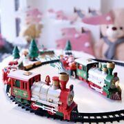 Christmas Electric Rail Car Train Toy Childrenand039s Electric Toy Railway Train Sets