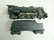 Lionel 2026 Steam Engine And 6466w Whistle Tender