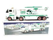 Hess Toy Truck And Helicopter 2006 Opened Box