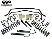 1967-72 Chevy Chevelle El Camino Swaybar Drop Coil Spring Kit Front Rear