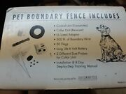 21st Century Dog Fence Transmitter Pet Containment Boundary Flags. Complete New