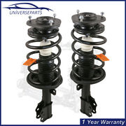 1 Pair Front Complete Struts Absorbers For 2003-2008 Toyota Matrix Pontiac Vibe