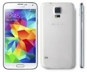 Excellent 8/10 Samsung Galaxy S5 G900a 16gb Shimmer White Att Only Shadow On Lcd