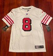 ⚡ Nike Steve Young 49ers Color Rush Untouchable Limited Jersey Medium Nwt New 🏈