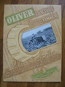 Oliver 60 Tractor Timken Bearing Sign