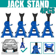 3ton Heavy Duty Jack Stands Kit Floor Jack Axel Lifting Stand Vehicle Car Garage
