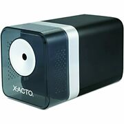 X-acto 1744 Power3 Office Electric Pencil Sharpener, Black Boston Products
