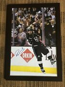 Autograph Framed 20x30 Photo Signed By L A Kings Star Drew Doughty.