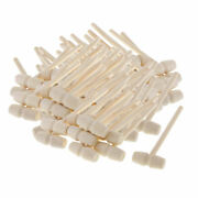 80pcs Mini Wooden Mallets Leather Crafts Carving Stamping Hammer Hand Tools Diy