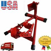 Motorcycle Parking Rack Steel Stand Bracket Repairing Tool For Home Auto Store