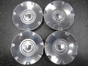 Set Of 4 Oem 2004-2012 Cadillac Cts Sts Center Caps 9595437 9596982 6.25