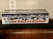 Hess 2002 Toy Truck And Airplane... Sealed