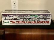 New 2006 Hess Toy Truck And Helicopter Sealed In Box - Mint Never Opened