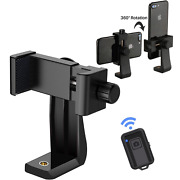 Cell Phone Tripod Adapter Holder Universal Smartphone Mount For Iphone Samsung