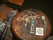 Choice Au/unc - 1922-s Peace Silver Dollar And Some Assorted Vintage Watches