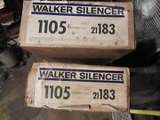 Pr Nos Walker Mufflers 1958-60 Ford Thunderbird In Sealed Boxes Rare Find