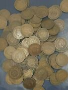 Large Collection Indian Head Cent Penny Coins 1858-1909 50 Coins Each Lot