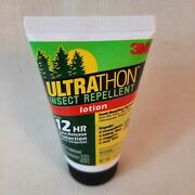 3m Ultrathon Insect Repellent Lotion 12-hour Time Release Protection 2 Oz. New