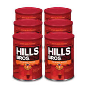 Hills Bros.andreg Coffee Original Case Of 6 - 11.3oz Cans Ground