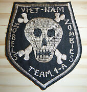 Patch - Us Special Forces - Zobeland039s Zombieand039s - Mike Force A1 - Vietnam War 1077
