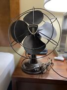 Antique Vtg Westinghouse Oscillating Fan Style 1137817 Electric 4 Blade 10-b-3