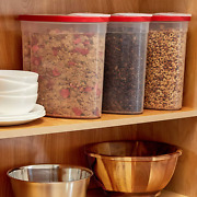 Rubbermaid Cereal Keeper 3 Pack Bases And Lids Are Bpa Free