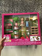 Barbie Sweet Orchard Farm Chelsea Doll And Friend, Veggie Garden Playset New