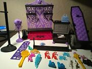 Monster High Doll School Furniture Accessories Mixed Lot Set