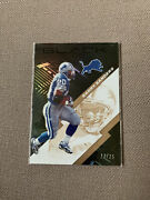 Barry Sanders 2020 Panini Black Gold Football Card. One Sold For 50 Taking 50