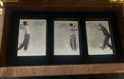 2013 Tiger Woods Ud Master Collection 80 Card Base Set With Wood Box 165/200