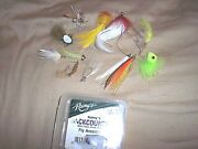 12 Back Country Fishing Lures Fly Fish Assortment Baby Tarpon Snook Redfish Lure