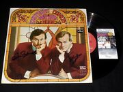 Smothers Brothers Tom And Dick Autographed Record Album Comedy Hour - Jsa Coa