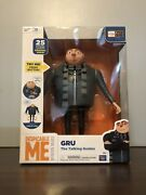 Despicable Me Minion Made Gru The Talking Genius Rare Collectible Thinkway Toys
