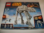 Retired New Lego 75054 Star Wars Trilogy Hoth Battle At-at Imperial Walker Set