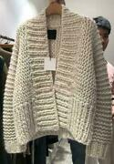 Womens Lazy Style Chunky Knitted Loose Oversize Sweater Cardigans Outwear Ppp