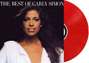 Carly Simon The Best Of Red Vinyl Barnes And Noble 180g Exclusive Vinyl Lp Record