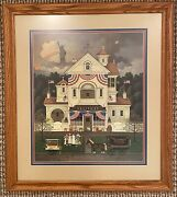 Lady Liberty's Independence Day - Charles Wysocki Framed Print/ Signed/ Numbered