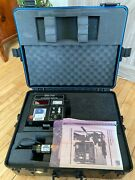 Hughes Palomar 2100a Ultrasonic Monitor Test Kit W Melles Griot Laser 3222h-c-66