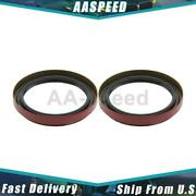 2x Axle Shaft Seal Front Inner Centric Parts For 1989-1997 Geo Prizm