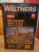 Milwaukee Beer And Ale Vintage Brewery Walthers Cornerstone Ho Scale Kitnew