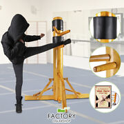 Wing Chun Dummy Wooden Martial Training Target Stand Kung Fu Practice Ip Man Pad