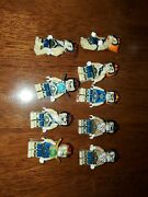 Lego Legends Of Chima Lion Tribe Minifigure Lot Of 9 Lions