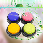 Recordable Talking Button Child Interactive Toy Phonograph Answer Buzzers Portab