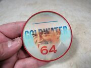 Vintage 1964 Vari-vue Barry Goldwater Campaign Pin-back Flicker Button