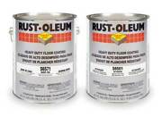 Rust-oleum S6571 Epoxy Activator And Finish Kit, Dunes Tan, High Gloss, 1 Gal,