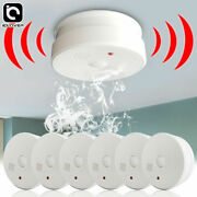 Smoke Detector Fire Alarm Battery Operated 5 Years Safety Warning For Home Hotel