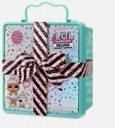 Lol Surprise Deluxe Present Surprise With Limited Edition Sprinkles Doll And Pet